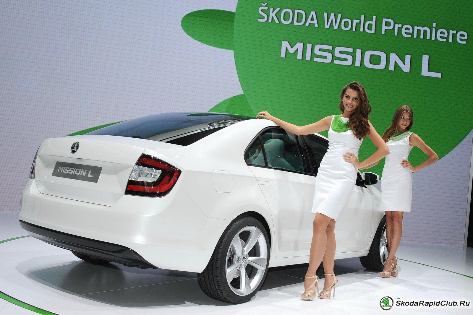 Концепт Skoda Mission L